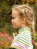Het profiel van het kind Stock Afbeelding