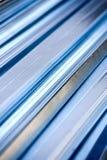 Het profiel van het metaal stock afbeelding