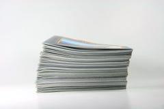 Het profiel van tijdschriften Royalty-vrije Stock Fotografie
