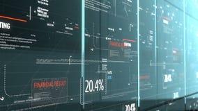 Het programma digitale achtergrond van de computercode