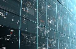 Het programma digitale achtergrond van de computercode Royalty-vrije Stock Afbeelding