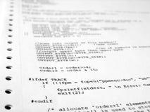 Het programma van de software Royalty-vrije Stock Afbeeldingen