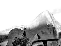 Het Project van de ervaringsmuziek (EMP) in Seattle Stock Foto's