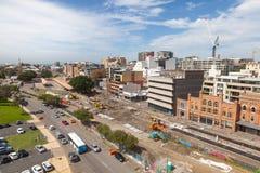 Het Project van de de Stadsvernieuwing van Newcastle Stock Foto