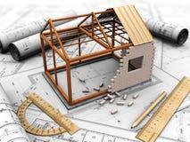 Het project van het huis vector illustratie
