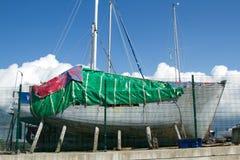 Het project van het jacht. Stock Foto's