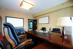 Het propere bureau van het bedrijf royalty-vrije stock afbeelding