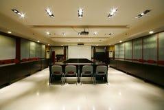Het propere bureau van het bedrijf Stock Afbeelding