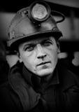 Het Protest actie-van staking van Silezische mijnwerkers Royalty-vrije Stock Foto