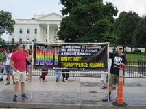 Het Protest van het afvalfascisme royalty-vrije stock fotografie