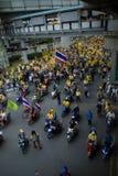 Het protest van Bangkok Stock Afbeeldingen