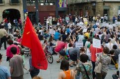 Het protest van de straat Royalty-vrije Stock Foto