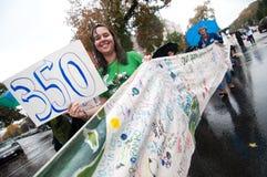 Het Protest van de Verandering van het klimaat Royalty-vrije Stock Foto's