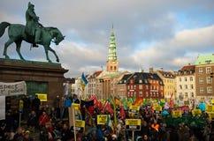 Het Protest van de Verandering van het klimaat Stock Afbeelding