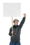 Het protesteren Royalty-vrije Stock Afbeeldingen