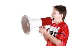 Het protesteren van het kind Stock Foto