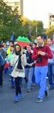 Het protesteren voor Rosia Montana Royalty-vrije Stock Foto