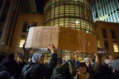 Het protesterende Verbod van de Troef` s Moslimreis Stock Foto's
