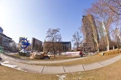Het protestkamp van Occupy Royalty-vrije Stock Foto's