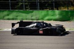 Het Prototypetest van Michael Shank Ligier LMP2 in Monza Stock Fotografie