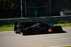 Het Prototypetest van Michael Shank Ligier LMP2 in Monza Stock Afbeelding
