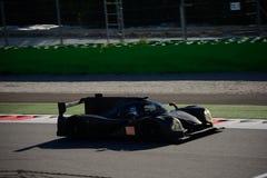 Het Prototypetest van Michael Shank Ligier LMP2 in Monza Royalty-vrije Stock Afbeeldingen