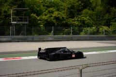 Het Prototypetest van Michael Shank Ligier LMP2 in Monza Stock Foto's