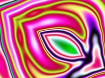 Het psychedelische Patroon van Kleuren Stock Foto