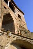 Het puin van de Forumarcheologie schuifelt Italië Stock Afbeeldingen
