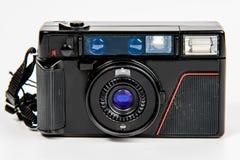 Het punt en de spruit van de filmcamera royalty-vrije stock fotografie