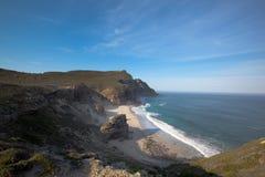 Het Punt van de kaap of Kaap van Goede Hoop Stock Fotografie