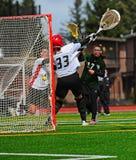 Het punt van de lacrosse Royalty-vrije Stock Afbeeldingen