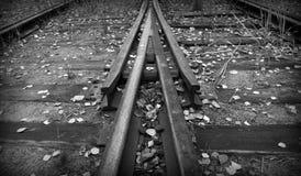 Het punt van de spoorweg Royalty-vrije Stock Foto's