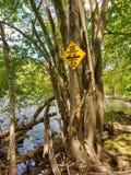 Het Punt van de watertoegang voor Schippers, Laurys-Post, Pennsylvania, de V.S. Royalty-vrije Stock Foto's