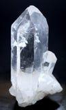 Het punt van het kwartskristal stock afbeelding