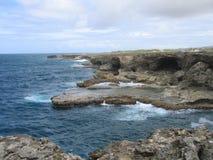 Het Punt van het noorden, Barbados Royalty-vrije Stock Fotografie