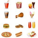 Het punt van het snelle Voedsel Stock Afbeelding