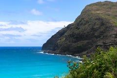 Het Punt van Makapuu, Hawaï Stock Foto's