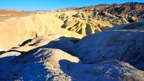 Het Punt van Zabriskie in de Vallei van de Dood, Nevada Stock Fotografie