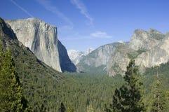Het punt Yosemite van de inspiratie Stock Afbeeldingen