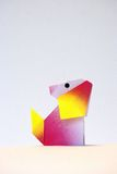 Het Puppy van de origami Royalty-vrije Stock Afbeelding