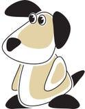 Het Puppy van het beeldverhaal stock afbeelding