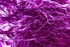 Het purpere materiaal Stock Fotografie
