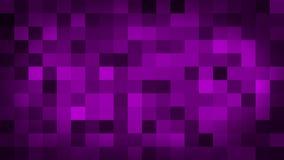 Het purpere motie abstracte achtergrond kleurrijke pixel opvlammen en schakelaar stock illustratie