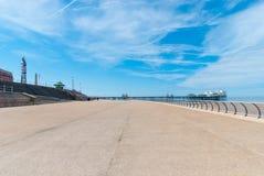 Het Queenspromenade van Blackpool Royalty-vrije Stock Foto