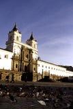 Het Quito van de kerk, Ecuador Royalty-vrije Stock Fotografie