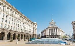 Het Raad van Ministersgebouw in centraal Sofia Stock Fotografie