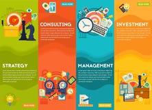 Het raadplegen, Beheers, Investerings en Strategieconcept Royalty-vrije Stock Foto's