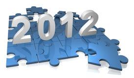 het raadsel van 2012 Stock Fotografie