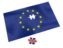 Het raadsel van de EU stock illustratie